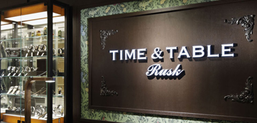 TIME&TABLE Rusk 阪急メンズ東京